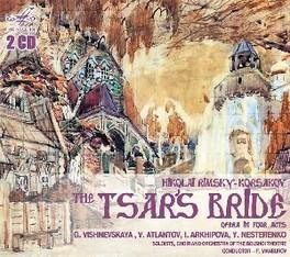 TSAR'S BRIDE BOLSHOI THEATRE/F.MANSUROV RIMSKY-KORSAKOV, N., CD