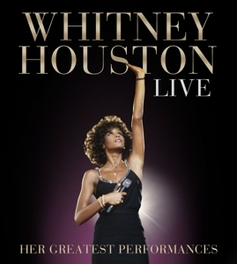 LIVE: HER.. -CD+DVD- .. GREATEST PERFORMANCES Houston, Whitney, CD