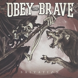 SALVATION STRAIGHT-AHEAD, MOSH-INDUCING METALCORE! OBEY THE BRAVE, CD