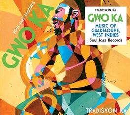 GWO KA * MUSIC OF GUADELOUPE, WEST INDIES * TRADISYON KA, Vinyl LP