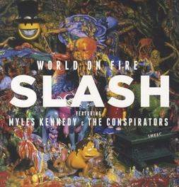 WORLD ON FIRE FEAT. MYLES KENNEDY - INCL. DOWNLOAD CODE SLASH, Vinyl LP