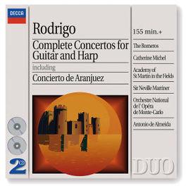 LES CONCERTOS POUR GUITAR ...& HARPE/W/THE ROMEROS, NEVILLE MARRINER, ACADEMY OF Audio CD, J. RODRIGO, CD