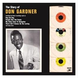 STORY OF DON GARDNER BOOKLET INCL.LINER NOTES DON GARDNER, CD