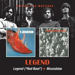 LEGEND (RED BOOT.. .. ALBUM)/MOONSHINE, 1970 AND 1971 ALBUMS LEGEND, CD