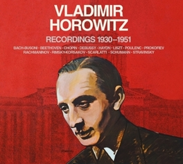 RECORDINGS 1930-1951 VLADIMIR HOROWITZ, CD