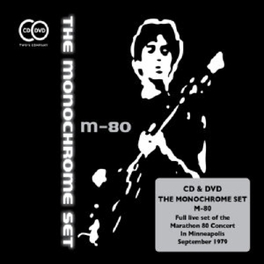 M-80 -CD+DVD- MONOCHROME SET, CD