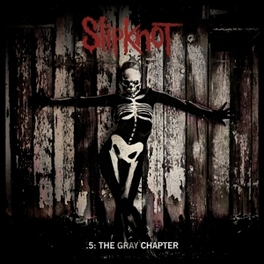 5: THE GRAY CHAPTER.. .. (BLACK) SLIPKNOT, Vinyl LP