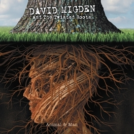 ANIMAL AND MAN -DIGI- & THE TWISTED ROOTS/ + 8PG. BOOKLET DAVID MIGDEN, CD