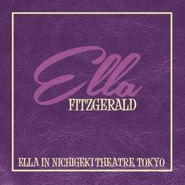 ELLA IN NICHIGEKI THEATRE ELLA FITZGERALD, Vinyl LP