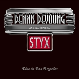 AND THE MUSIC.. -CD+DVD- .. (LIVE IN LA) DENNIS DEYOUNG, CD