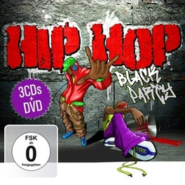 HIP HOP BLACK.. -CD+DVD- .. PARTY V/A, CD
