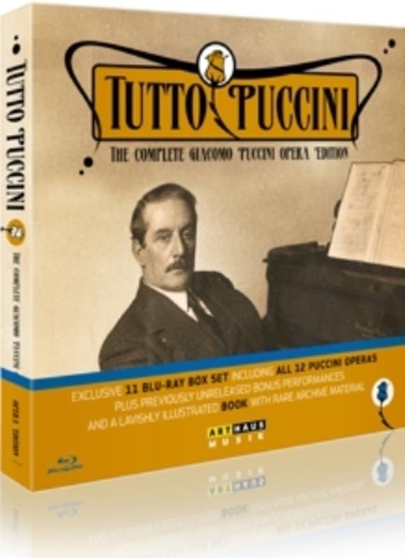 Cedolins,Marton,Carreras Tutto Puccini 11 Dvd's Alle Puccini