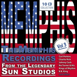 MEMPHIS VOL.3 W/CHARLIE FEATHERS/BUDDY BLAKE/MILLER SISTERS/.. V/A, CD