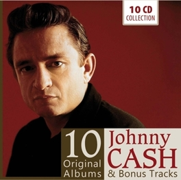 10 ORIGINAL ALBUMS Johnny Cash, CD