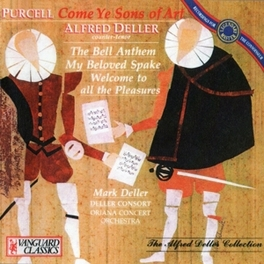 ODE FOR ST.CECILIA'S DAY ALFRED DELLER CONSORT/M.TIPPETT H. PURCELL, CD
