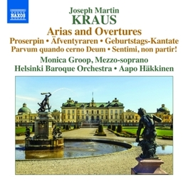 ARIAS AND OVERTURES HELSINKI BAROQUE ORCHESTRA/AAPO HAKKINEN J.M. KRAUS, CD