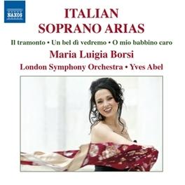 ITALIAN SOPRANO ARIAS LONDON SYMPHONY ORCHESTRA/YVES ABEL MARIA LUIGIA BORSI, CD