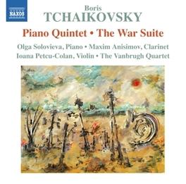 PIANO QUINTET/WAR SUITE VANBRUGH QUARTET/OLGA SOLOVIEVA P.I. TCHAIKOVSKY, CD