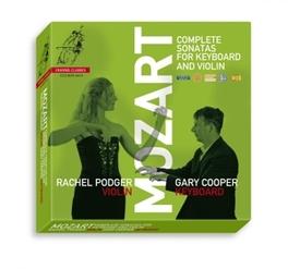 COMPLETE SONATAS FOR KEYB RACHEL PODGER/GARY COOPER W.A. MOZART, CD
