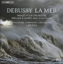 LA MER SINGAPORE S.O./LAN SHU C. DEBUSSY, CD