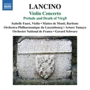 VIOLIN CONCERTO ORCH.PHIL.DE LUXEMBOURG/ARTURO TAMAYO/ISABELLE FAUST