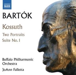 KOSSUTH BUFFALO P.O./JOANN FALLETTA B. BARTOK, CD