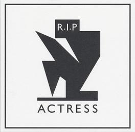 R.I.P. ACTRESS, CD