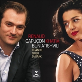 VIOLIN SONATAS WORKS BY FRANCK/GRIEG/DVORAK CAPUCON/BUNIATISHVILI, CD