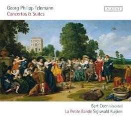 CONCERTOS & SUITES LA PETITE BANDE/SIGISWALD KIJKEN/BART COEN Telemann, Georg Philipp, Audio Visuele Media