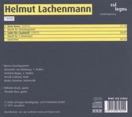 GRAN TORSO BRUCK/ROSS/BERNER STRING QT. Audio CD, H. LACHENMANN, CD