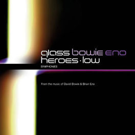 HEROES SYMPHONY/LOW.. AMERICAN COMPOSERS ORCH./BROOKLYN P.O./RUSSELL DAVIES Audio CD, GLASS/BOWIE/ENO, CD