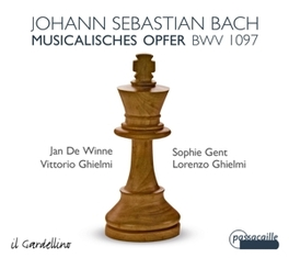 MUSICAL OFFERING JAN DE WINNE/SOPHIE GENT/GHIELMI J.S. BACH, CD