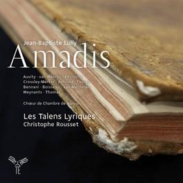 AMADIS LES TALENS LYRIQUES/CHRISTOPHE ROUSSET J.B. LULLY, CD