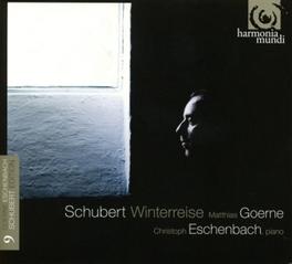 DIE WINTERREISE MATTHIAS GOERNE F. SCHUBERT, CD