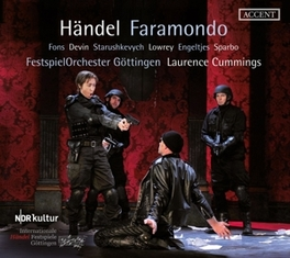 FARAMONDO HWV 39 LIVE FROM THE GOETTINGEN INTERNATIONAL HANDEL FESTIVAL G.F. HANDEL, CD