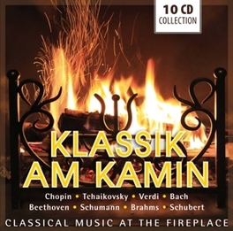 CLASSICAL MUSIC AT THE.. .. FIREPLACE//RUBINSTEIN/HOROWITZ/MULLER/FLOR/ARRAU... V/A, CD