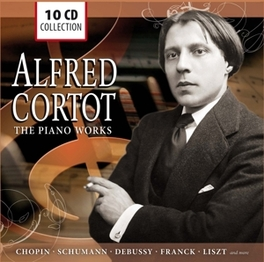 PIANO WORKS ALFRED CORTOT, CD