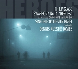SYMPHONY NO.4-HEROES S.O.BASEL/DENNIS RUSSELL DAVIES GLASS, PHILIP, CD