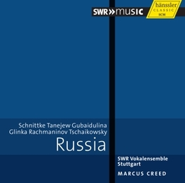 RUSSIA MARCUS CREED//WORKS BY SCHNITTKE/RACHMANINOV/ SWR VOKALENSEMBLE, CD