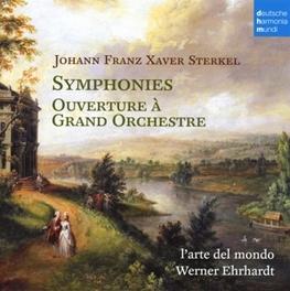 SYMPHONIES NO.1 & 2 L'ARTE DEL MONDO/WERNER EHRHARDT J.F.X. STERKEL, CD