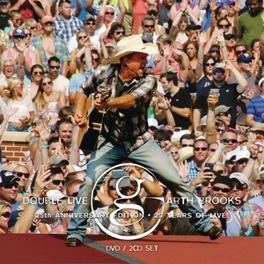 DOUBLE LIVE GARTH BROOKS, CD