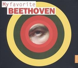 MY FAVORITE BEETHOVEN L. VAN BEETHOVEN, CD