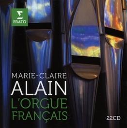 L'ORGUE FRANCAIS ALAIN, MARIE-CLAIRE, CD