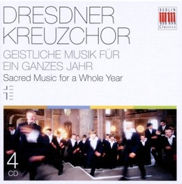 SACRED MUSIC FOR A.. .. WHOLE YEAR DRESDNER KREUZCHOR, CD