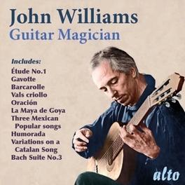 GUITAR MAGICIAN BACH/SCARLATTI/SOR/SEGOVIA... JOHN WILLIAMS, CD