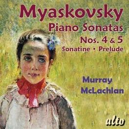 PIANO SONATAS NO.4/5 MURRAY MCLACHLAN N. MYASKOVSKY, CD