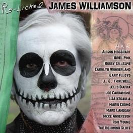 RE-LICKED -CD+DVD/DIGI- DVD IS AN IN-STUDIO MAKING-OF FILM JAMES WILLIAMSON, CD