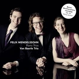KLAVIER TRIOS VAN BAERLE TRIO/HANNES MINNAAR MENDELSSOHN-BARTHOLDY, F., CD