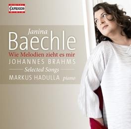 SELECTED SONGS JANINA BAECHLE/MARKUS HADULLA J. BRAHMS, CD