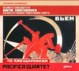 SOVIET EXPERIENCE PACIFICA QUARTET SHOSTAKOVICH/MIASKOVSKY/P, CD